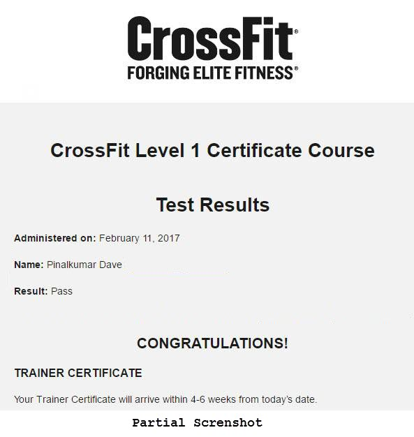 My Journey to CrossFit Level 1 Trainer (CF-L1) Credential CrossFit Level 1 Trainer