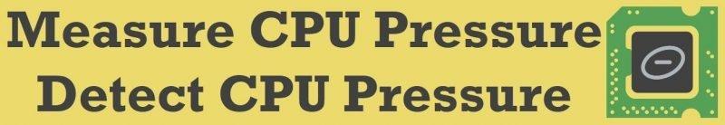 SQL SERVER - Measure CPU Pressure - Detect CPU Pressure cpu-pressure-800x138