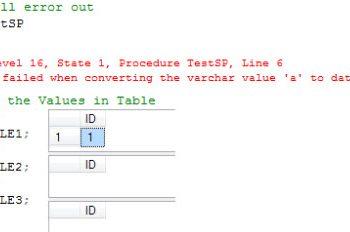 SQL SERVER - PIVOT and UNPIVOT Table Examples - SQL