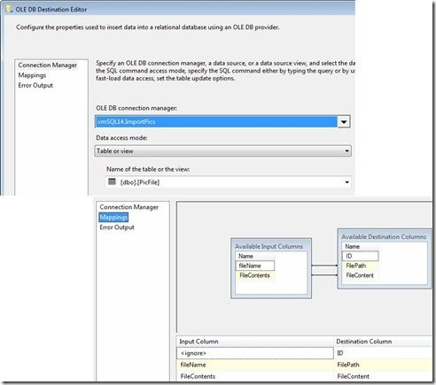 SQL SERVER - SSIS and How to Load Binary Large Objects, or Blobs