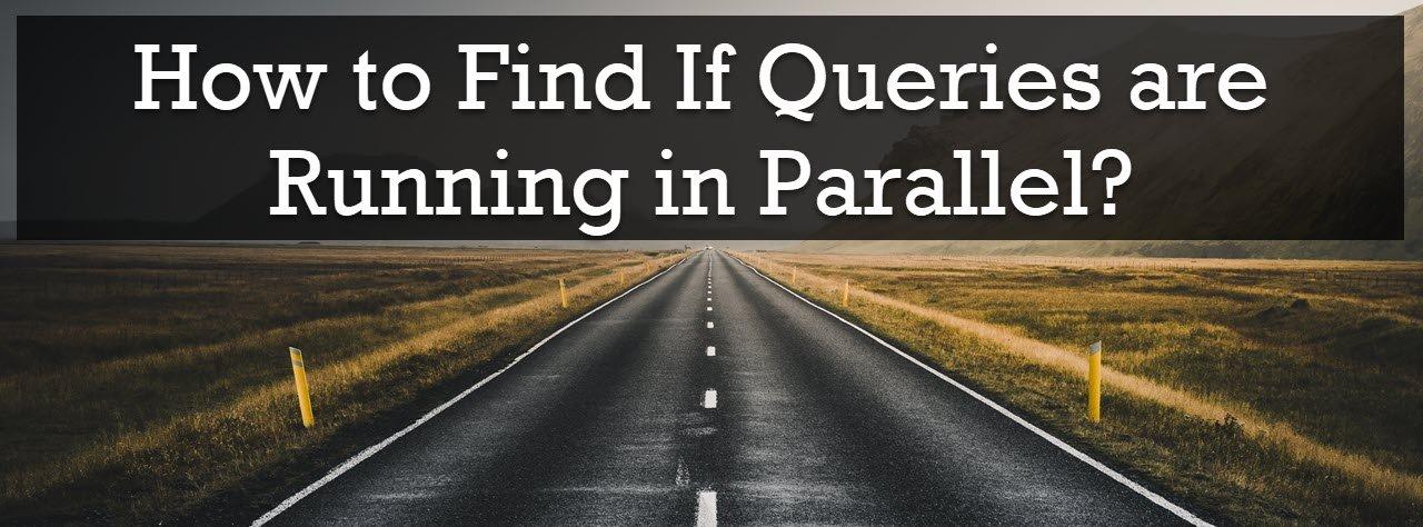 running in parallel