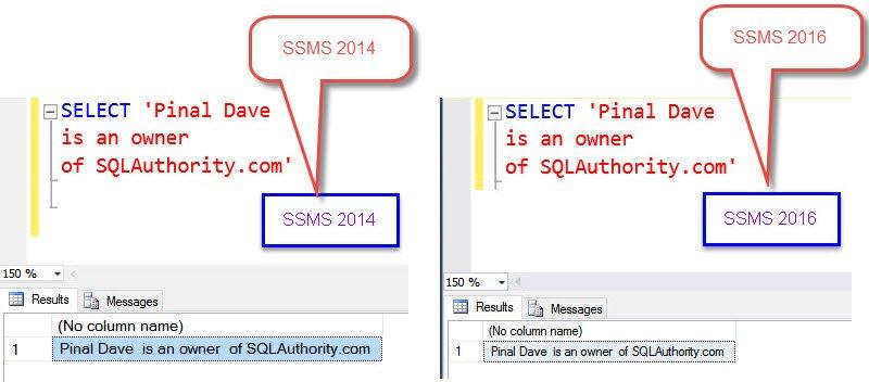 SQL SERVER - Maintain Carriage Return (Enter Key) in SQL Server 2016