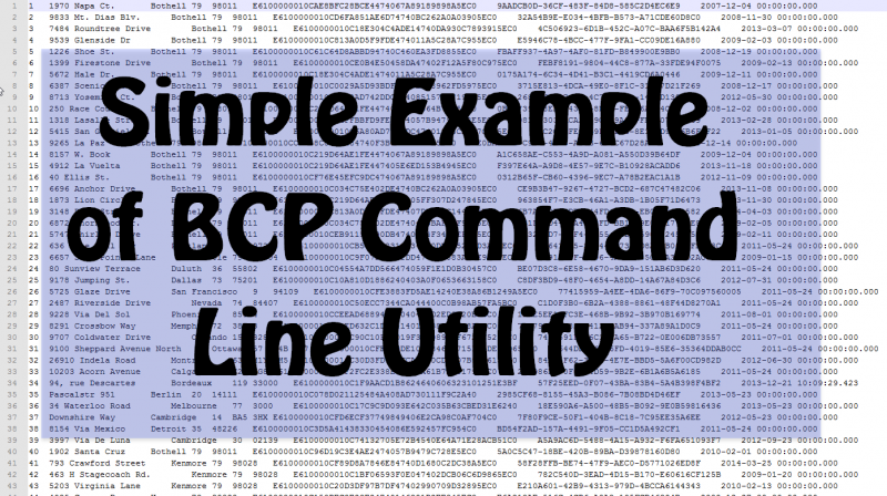 SQL SERVER - Simple Example of BCP Command Line Utility bcp5-800x448