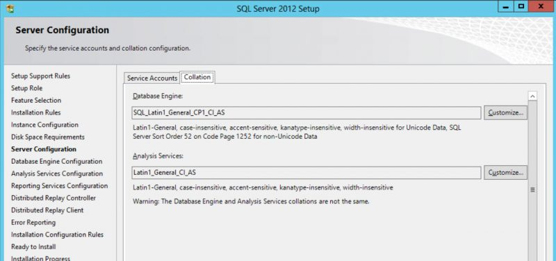 SQL SERVER - Case of Different Default Collation on Two Servers coll-01-800x376