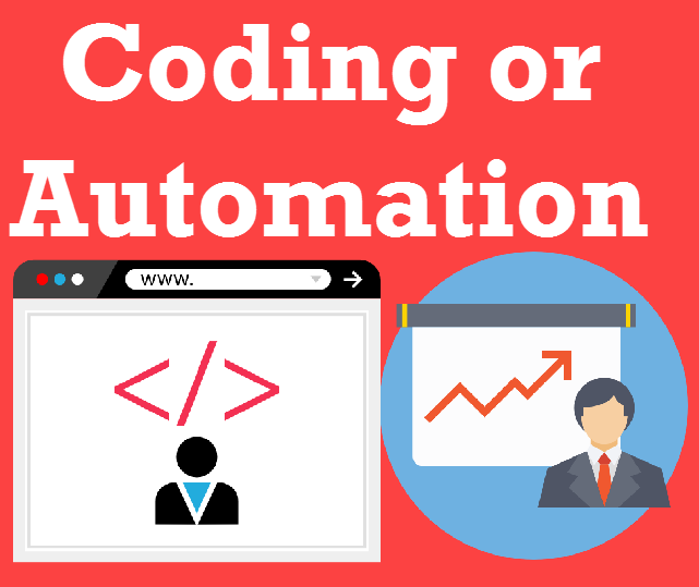 SQL SERVER - Performance Choice - Coding or Automation codingvsautomation