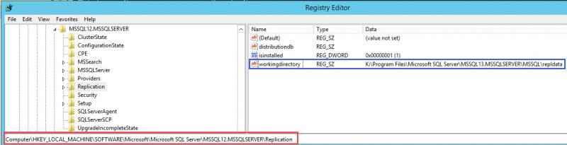 SQL SERVER - Unable to bring resource online - Error DoREPLSharedDataUpgrade : Failed to create working directory DoREPL-01-800x205