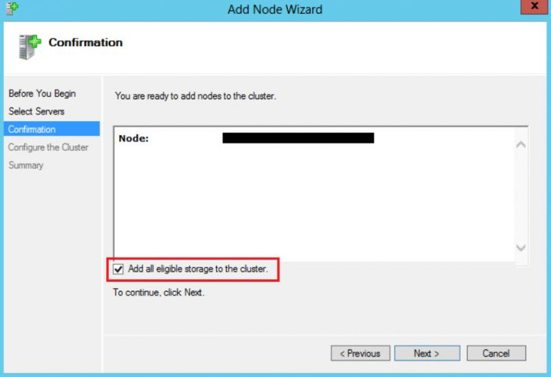 SQL SERVER - Added New Node in Windows Cluster and AlwaysOn Availability Databases Stopped Working add-node-disk-01-800x547
