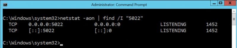 SQL SERVER - FIX - Error: 26023 - TCP Port is Already in Use tcp-in-use-01-800x164