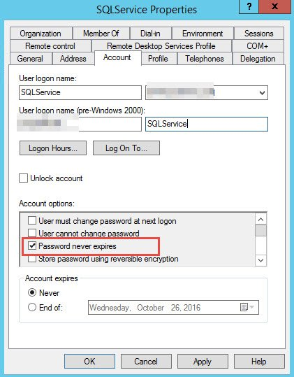 SQL SERVER - Log Shipping Copy Job Failure - The Password for This Account Has Expired ls-copy-01