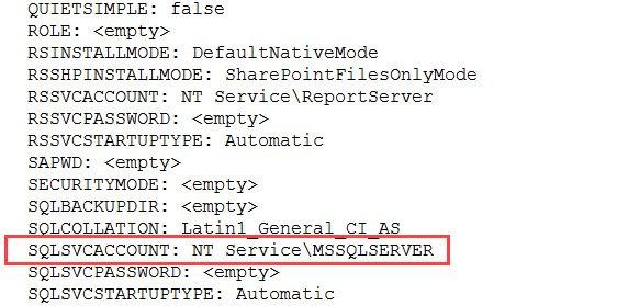 SQL SERVER - SQL Installation fails with error code