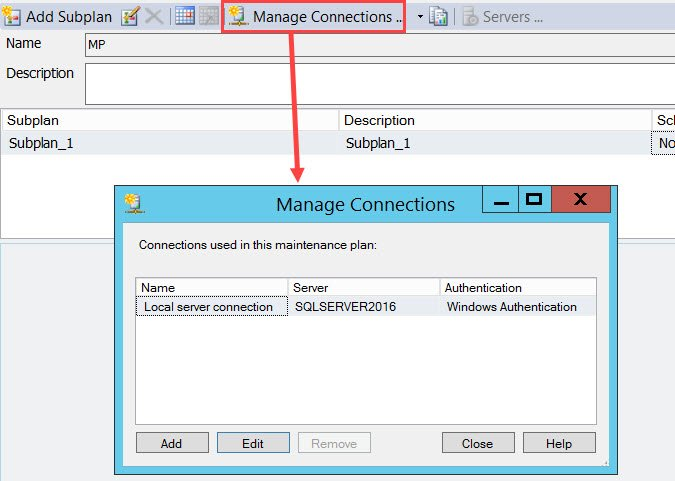 SQL SERVER - Maintenance Plan failing with 0x80131904 - A network-related or instance-specific error occurred while establishing a connection to SQL Server. mp-alias-01