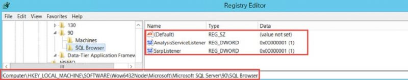 SQL SERVER - SQL Browser not Starting. Error - The SQL Configuration for SQL is Inaccessible or Invalid browser-err-01-800x157