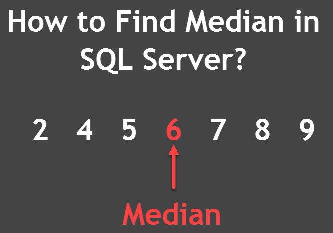 How to Find Median in SQL Server? - Interview Question of the Week #116 medianSQLServer
