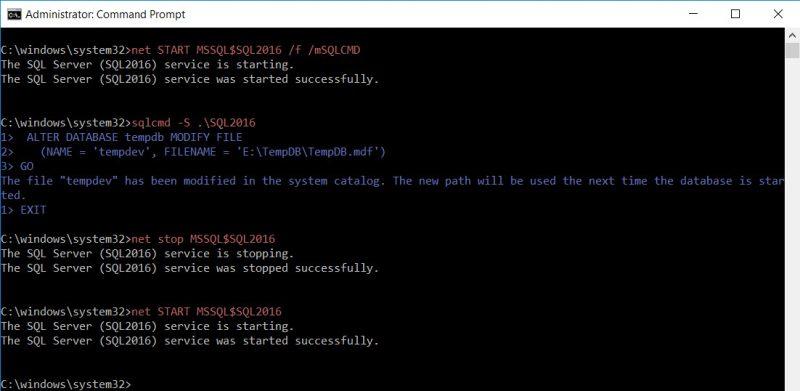 SQL SERVER - Unable to Start SQL Service - OS Error 5 (Access is denied.) for TempDB tempdb-access-denied-02-800x391
