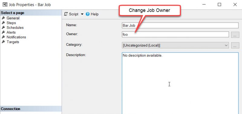 SQL SERVER - FIX: Msg 15170, Level 16, This login is the Owner of 1 Job(s). You Must Delete or Reassign these Jobs Before the Login can be Dropped drop-foo-01-800x378