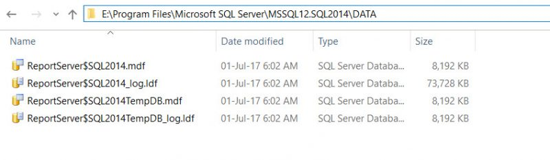 """SQL SERVER - FIX: Rule """"Reporting Services Catalog Database File Existence"""" Failed SSRS-setup-error-02-800x233"""