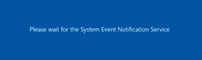 "SQL SERVER - Message: ""Please wait for the System Event Notification Service"" When Trying to Logoff from RDP Session sens-01"