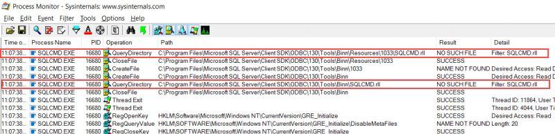 SQL SERVER - SQLCMD Error - Failed to Load Resource File SQLCMD.rll sqlcmd-rll-02-800x194