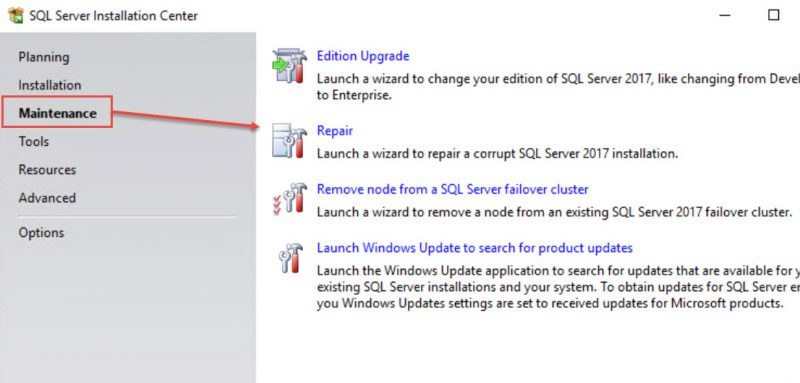 SQL SERVER - Maintenance Plan Error: Cannot Create a Task From XML For Task, Eue to Error 0x80070057. The Parameter is Incorrect. (OnPreExecute) ssms-plan-err-01-800x383