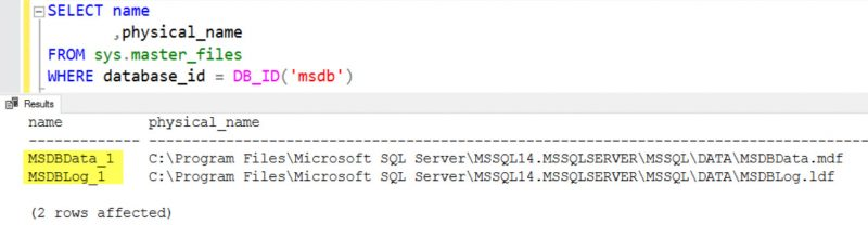 SQL SERVER - Script Level Upgrade for Database 'master' Failed Because Upgrade Step 'sqlagent100_msdb_upgrade.sql' -  Error: 5041: MODIFY FILE Failed upgrade-msdb-err-01-800x208