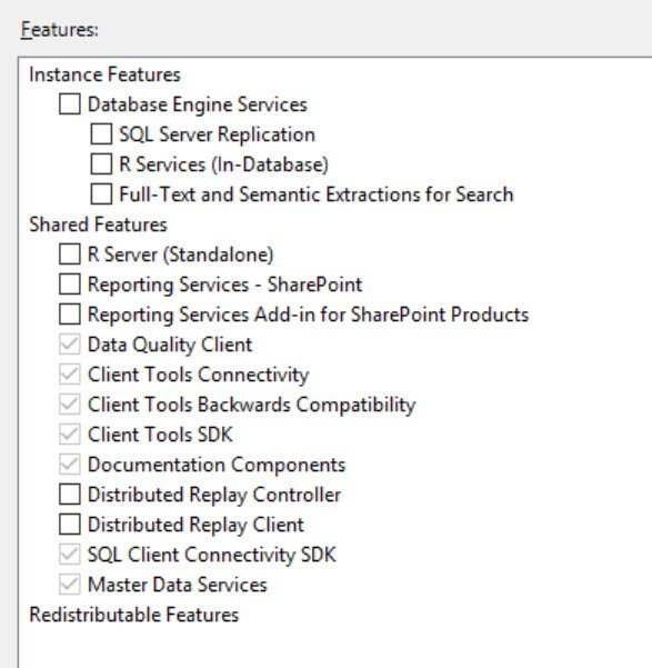 SQL SERVER - All the Features not Listed While Installing SQL Server feature-miss-01
