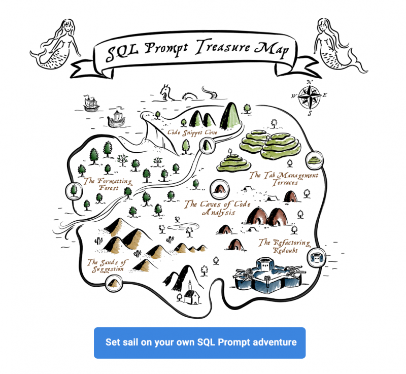 Driving up Database Coding Standards and Productivity with SQL Prompt Treasure-Map-promo-banner2-800x737