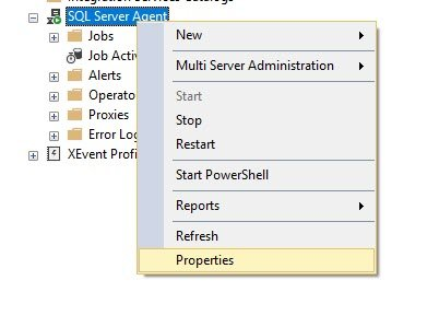 SQL SERVER - How to Get SQL Server Agent Properties? agentprop