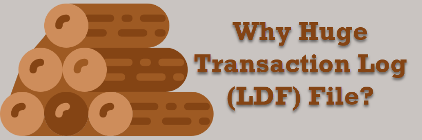 SQL SERVER - Useful Queries - Why Huge Transaction Log (LDF) File? Fix Low Disk Free Space on the Drive Used by LDF Files hugetlog