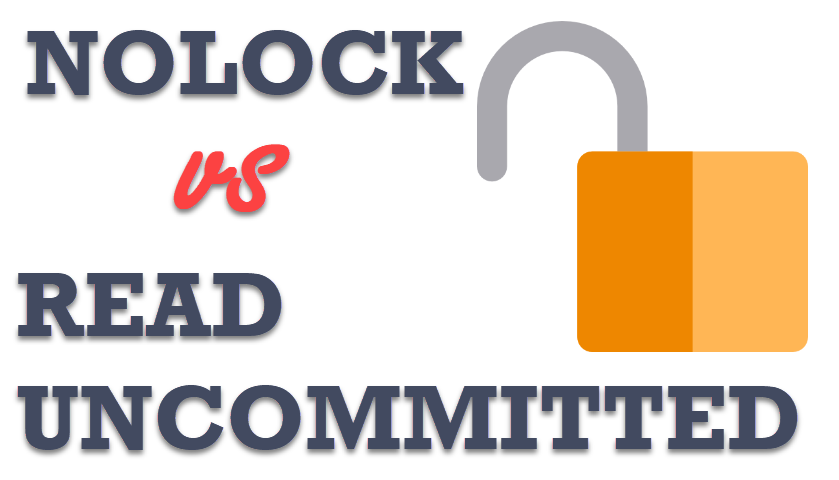 SQL SERVER - Applying NOLOCK to Every Single Table in Select Statement - SET TRANSACTION ISOLATION LEVEL READ UNCOMMITTED nolock