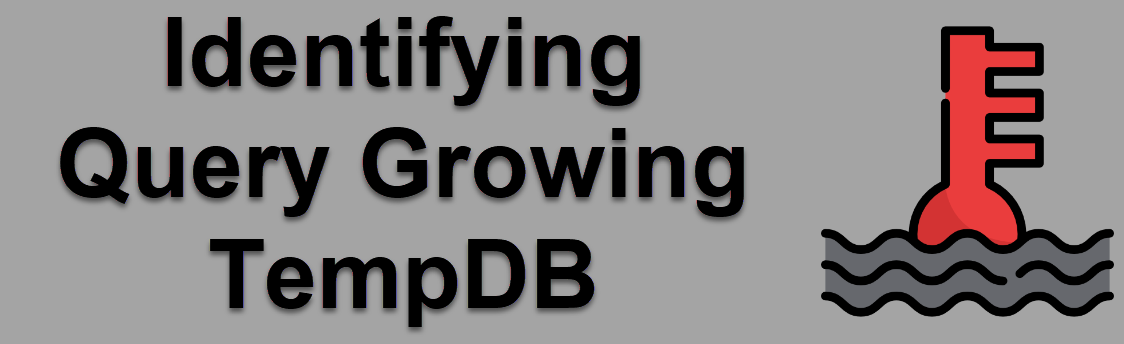 SQL SERVER - Identifying Query Growing TempDB tempdbquery