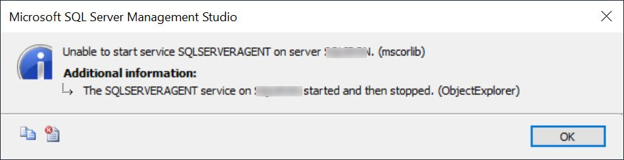 SQL SERVER - Unable to Start Service SQLSERVERAGENT on Server (mscorlib) sqlagt-stop-01