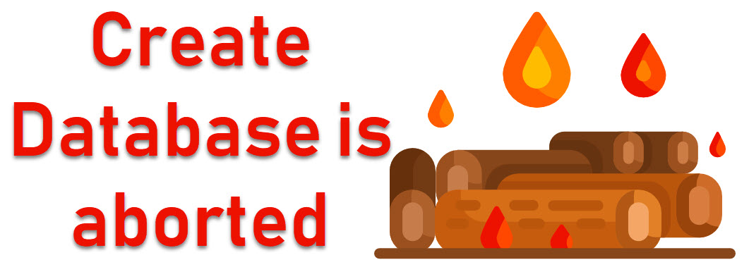 SQL SERVER - Fix : Error Msg 1813, Level 16, State 2, Line 1 Could not open new database databasename. CREATE DATABASE is aborted firelog