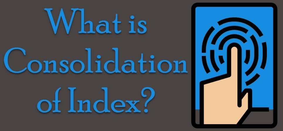 What is Consolidation of Index? - Interview Question of the Week #212 conindex