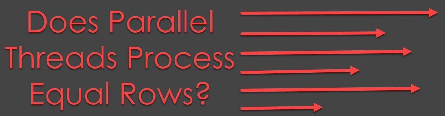 Does Parallel Threads Process Equal Rows? - Interview Question of the Week #211 parallelthreads