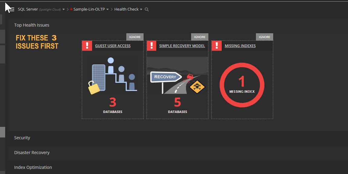 SQL Server Monitoring Week - Spotlight Cloud spotlight4