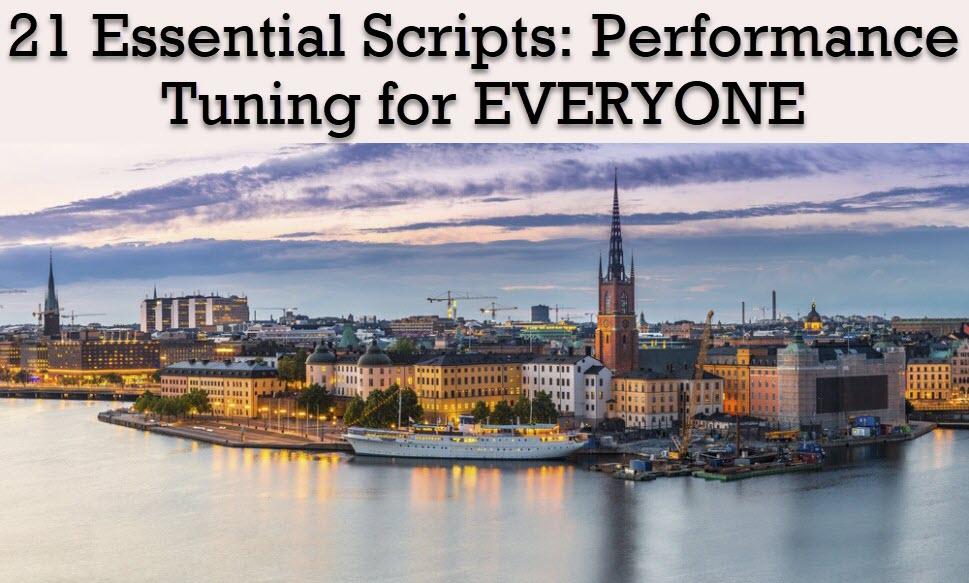 Registration Open for SQL Saturday Stockholm Workshop 2019 stockholm