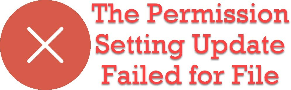 SQL SERVER - REBUILDDATABASE Error: 0x84CF0004 - While updating permission setting for folder The Permission Setting Update Failed for File REBUILDDATABASE
