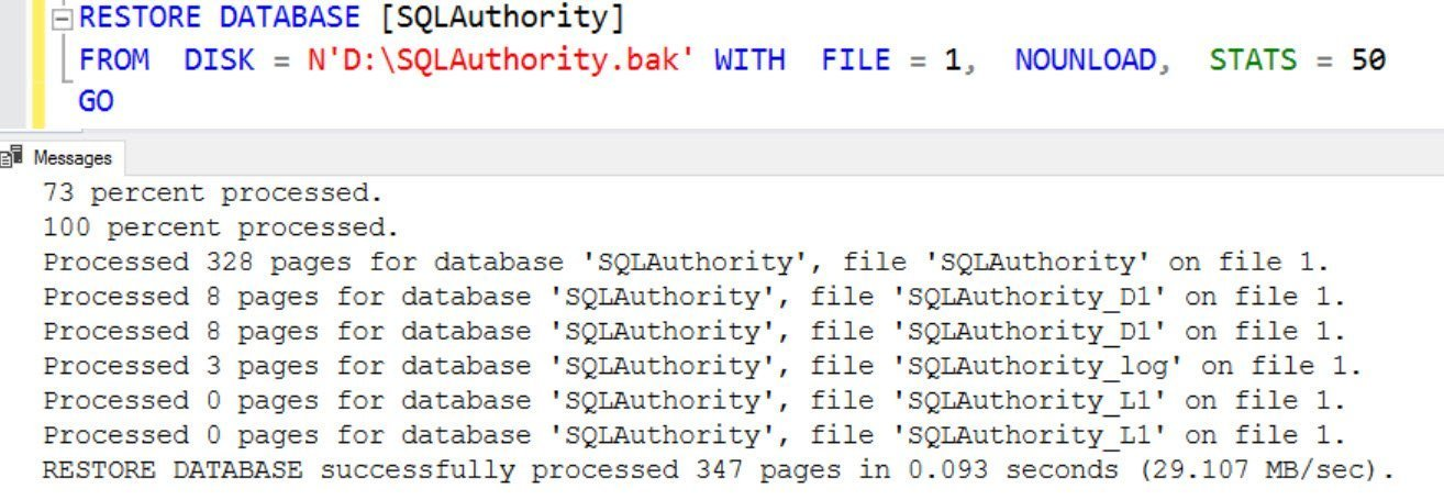 SQL SERVER - FIX: Msg 4353 - Conflicting File Relocations Have Been Specified for File. Only a Single WITH MOVE Clause Should be Specified for Any Logical File Name conflict-err-02