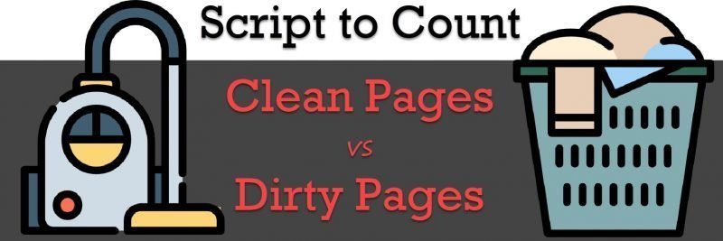 SQL SERVER - Clean Pages and Dirty Pages Count - Memory Buffer Pools cleandirty-800x267