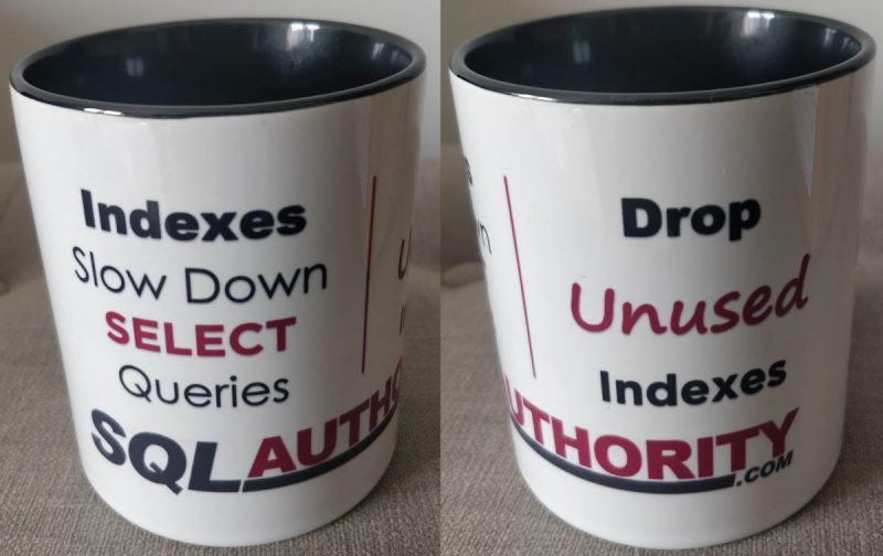 Coffee Mug - Indexes and SELECT Queries cupsidebyside-800x504