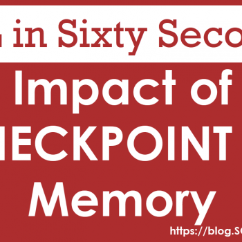CHECKPOINT on Memory
