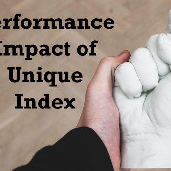 unique index