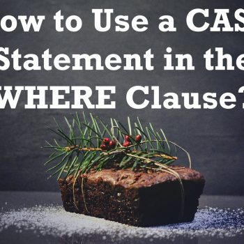 case statement