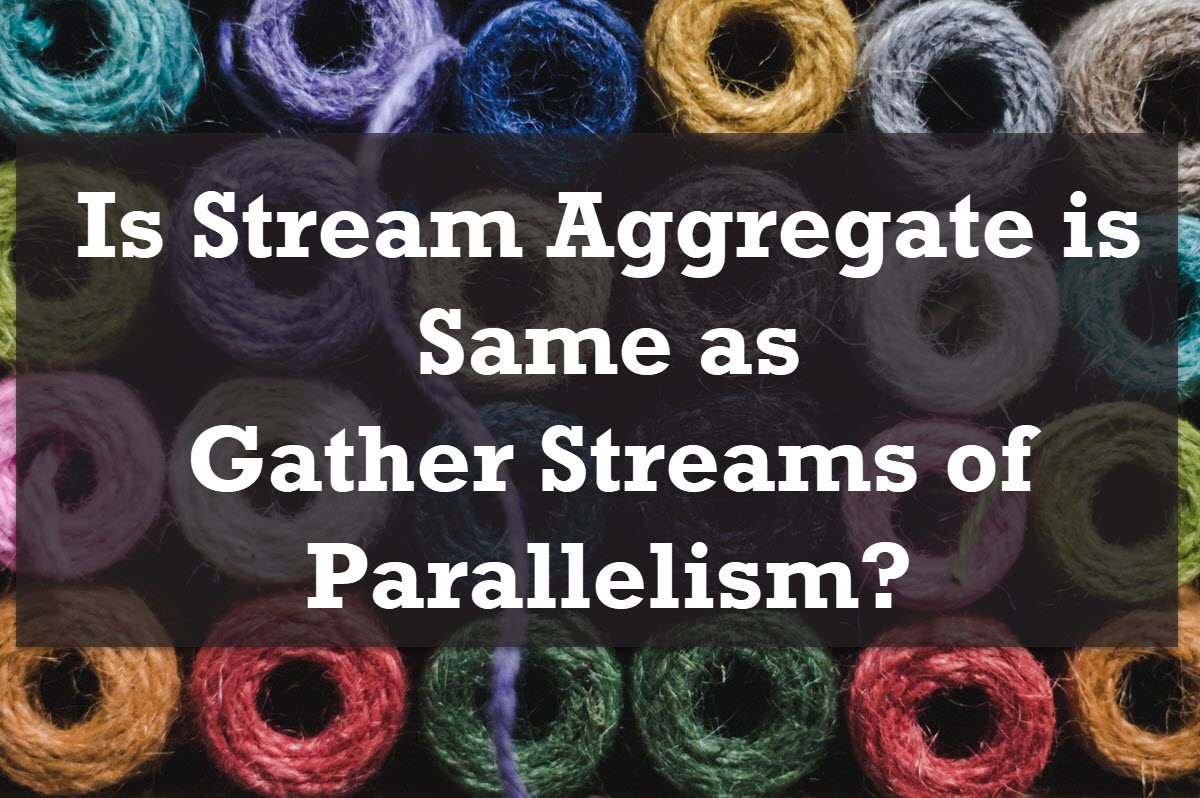 Stream Aggregate