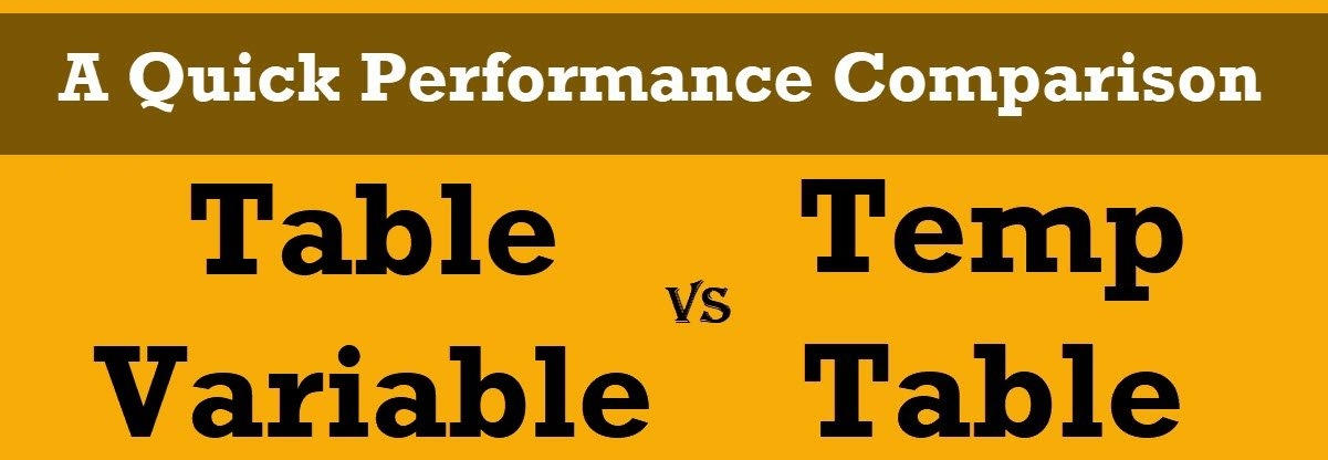 table variable