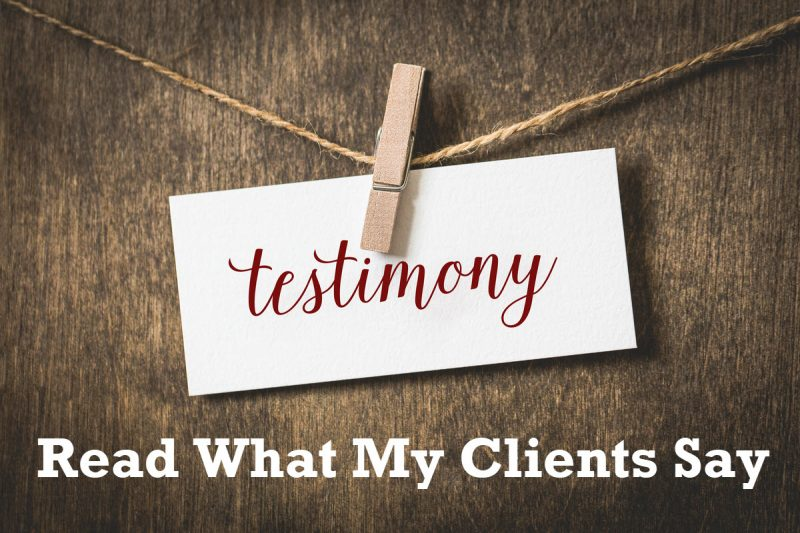 Read What My Clients Say About Comprehensive Database Performance Health Check testimonials-800x533