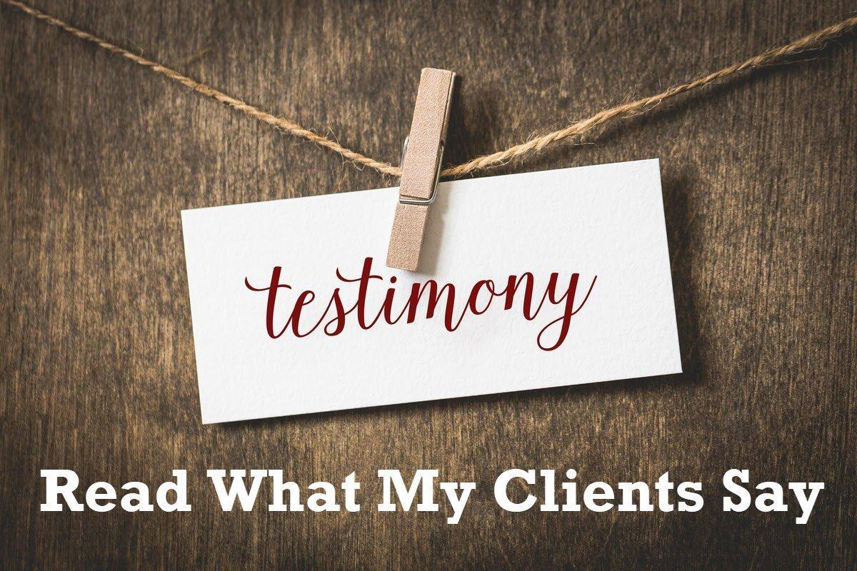 testimonials