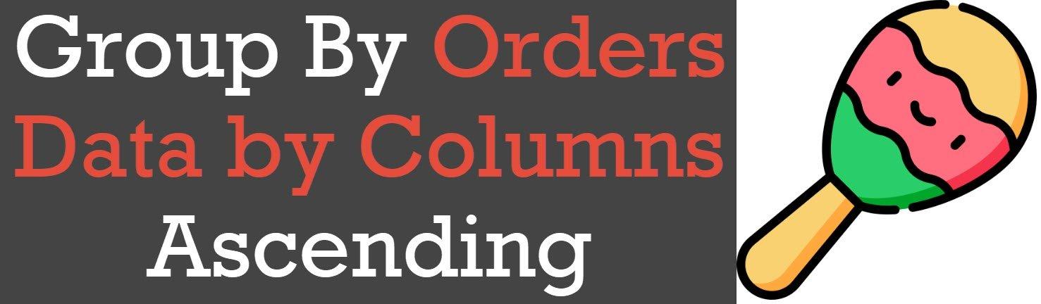 Orders Data