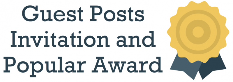 Guest Posts Invitation and Popular Award guest-posts-800x284
