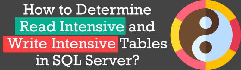 How to Determine Read Intensive and Write Intensive Tables in SQL Server? - Interview Question of the Week #251 readwriteintensive-800x234